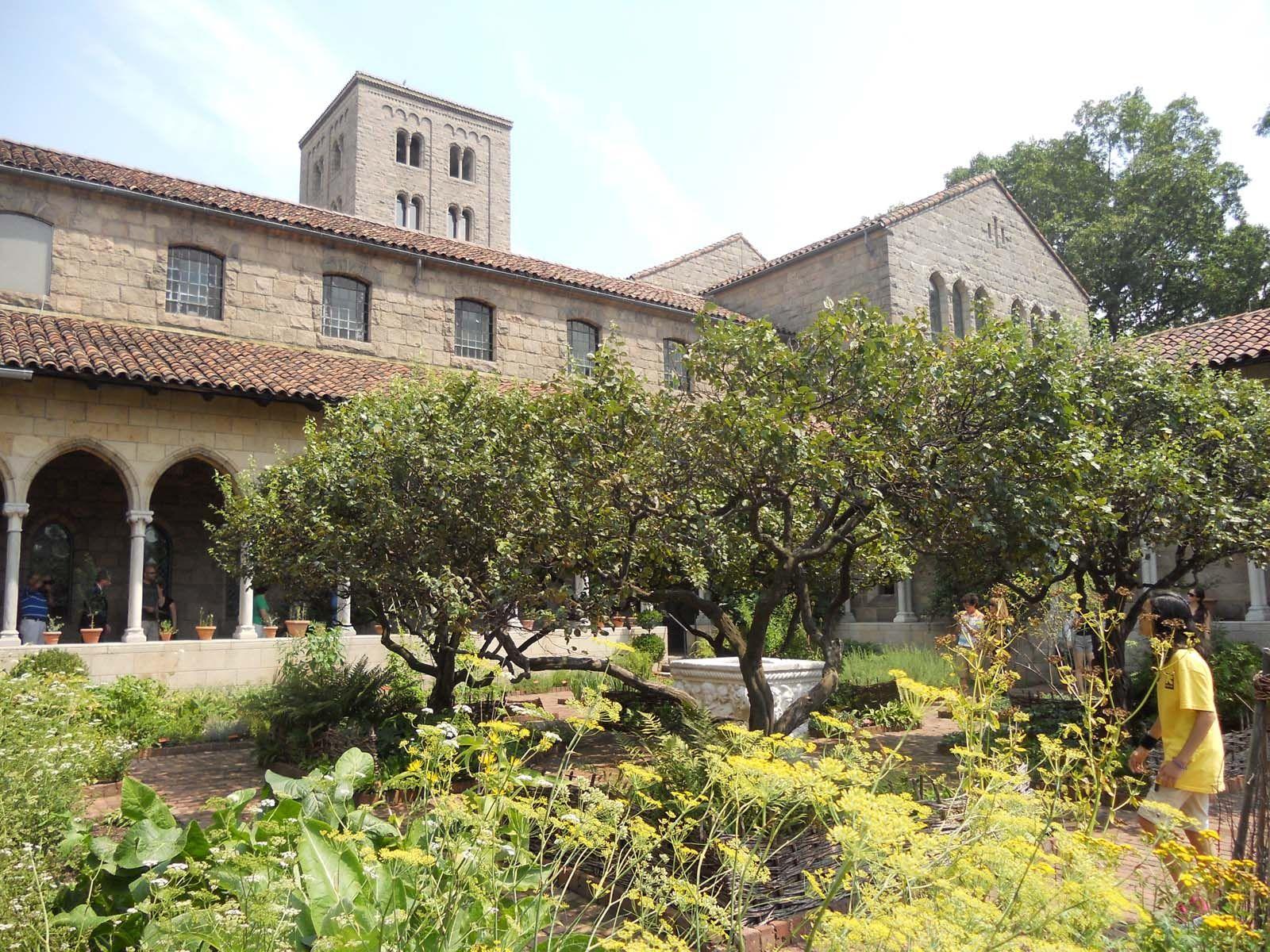 Medieval Monastery Gardens | Medieval monastery garden | SHE WALKS ...