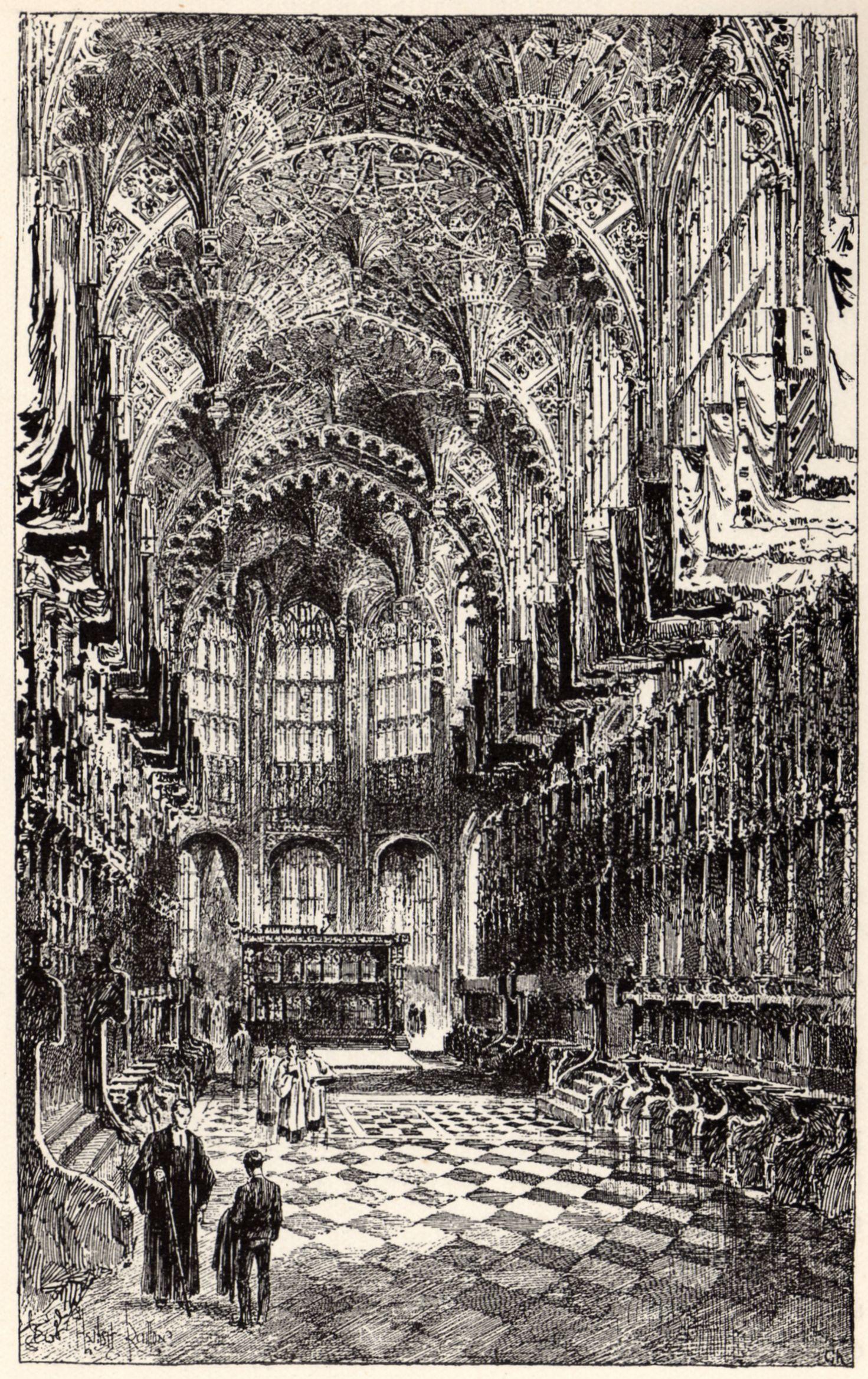 Herbert Railton Henry Vii 39 S Chapel A Brief Account Of