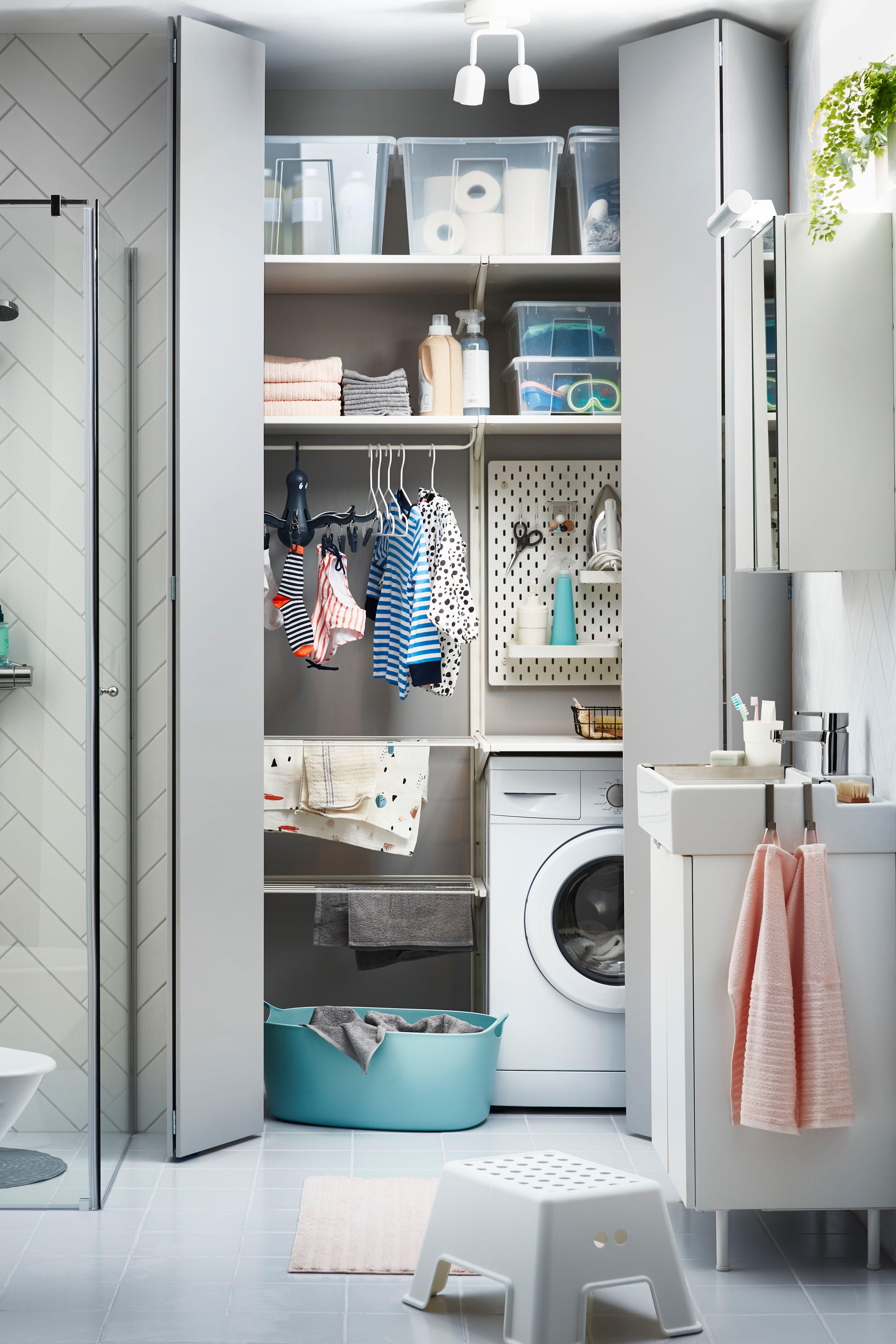 Flexibles Schranksystem - ALGOT System  Schrank waschmaschine