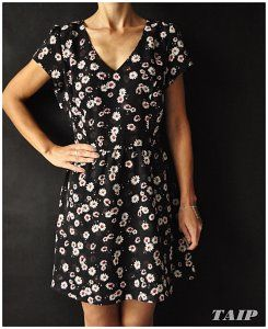 New Look Czarna Sukienka W Kwiatki 42 6440776961 Oficjalne Archiwum Allegro Fashion Short Sleeve Dresses Dresses