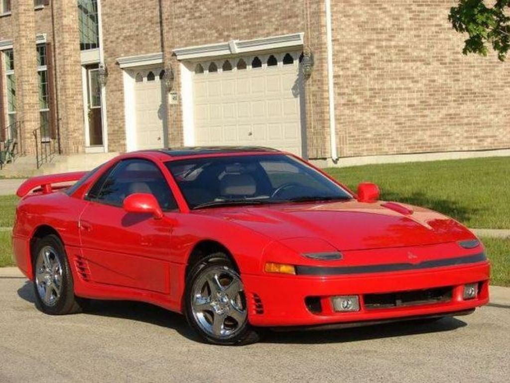Ten of the Best Japanese Cars Ever Made - 6. Mitsubishi 3000GT ...