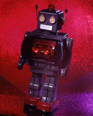 Old School Robot Toy Robots Pinterest Robot Vintage Robots