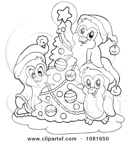 christmas colouring pages for older kids - Google Search odds - new christmas coloring pages penguins