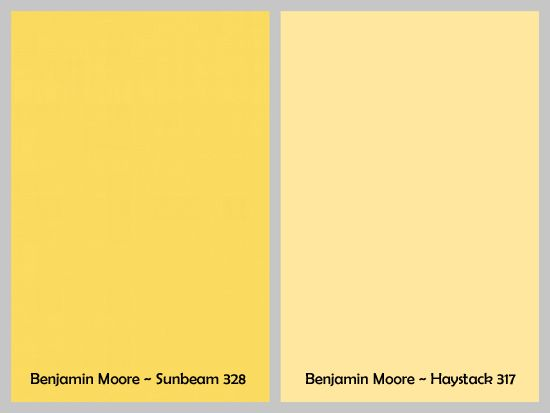 Different Shades Of Yellow Paint benjamin moore - haystack 317 | kitchen | pinterest | accent