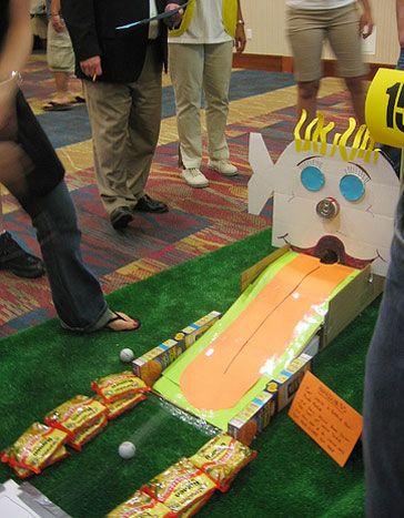Participants Can Create Their Own Mini Golf Course Using