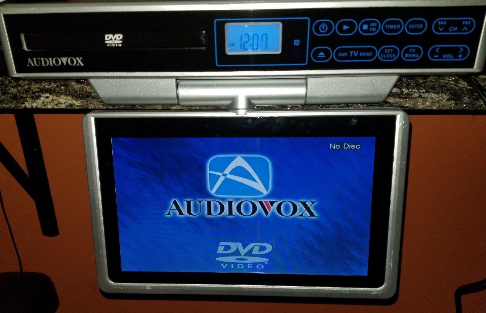 audiovox 10 kitchen lcd tv dvd am fm radio combo ave9103 under