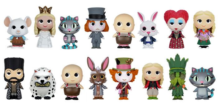 New Toy Vaulted FUNKO MOPEEZ: Alice Through The Looking Glass Time