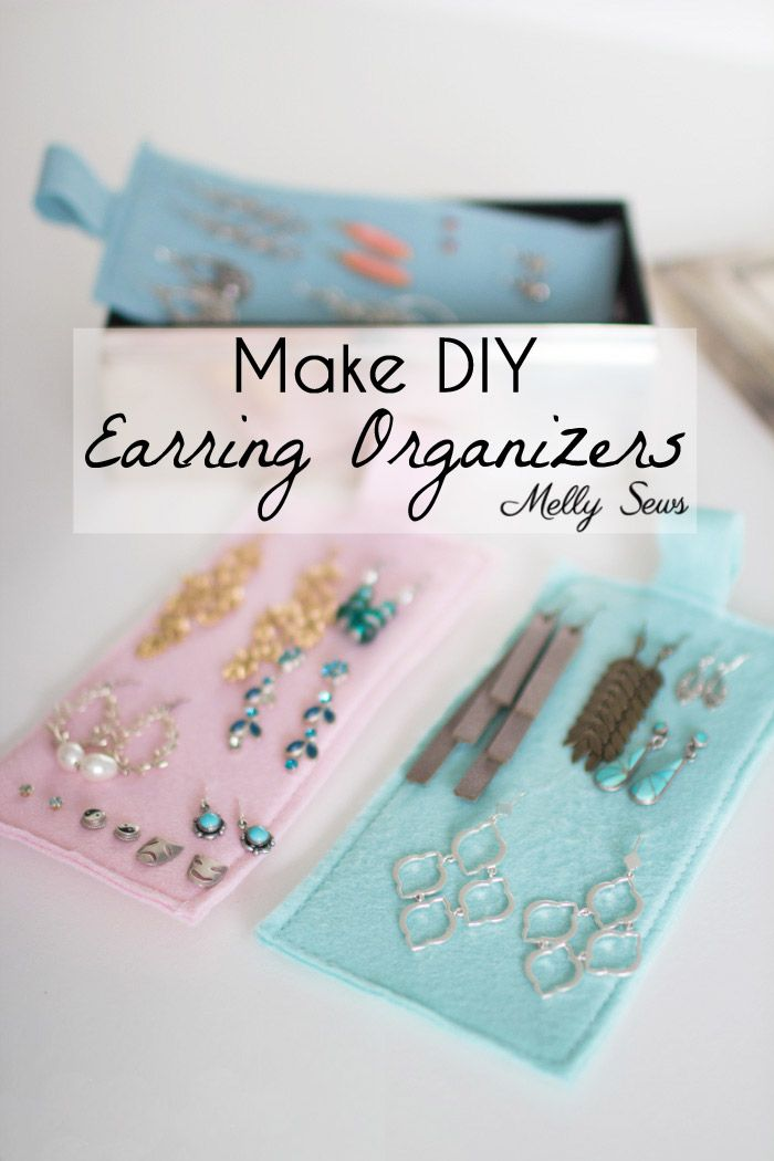 Earring Organizers Diy Earring Holder Bags And Purses To