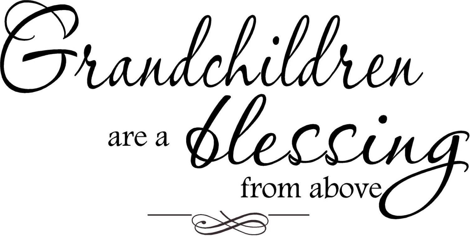 Grandchildren Grandma Gifts from Kids Quotes about