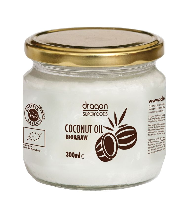 Ulei de cocos virgin presat la rece BIO 300ml Dragon Superfoods Superfoods,  Virginia, Coconut