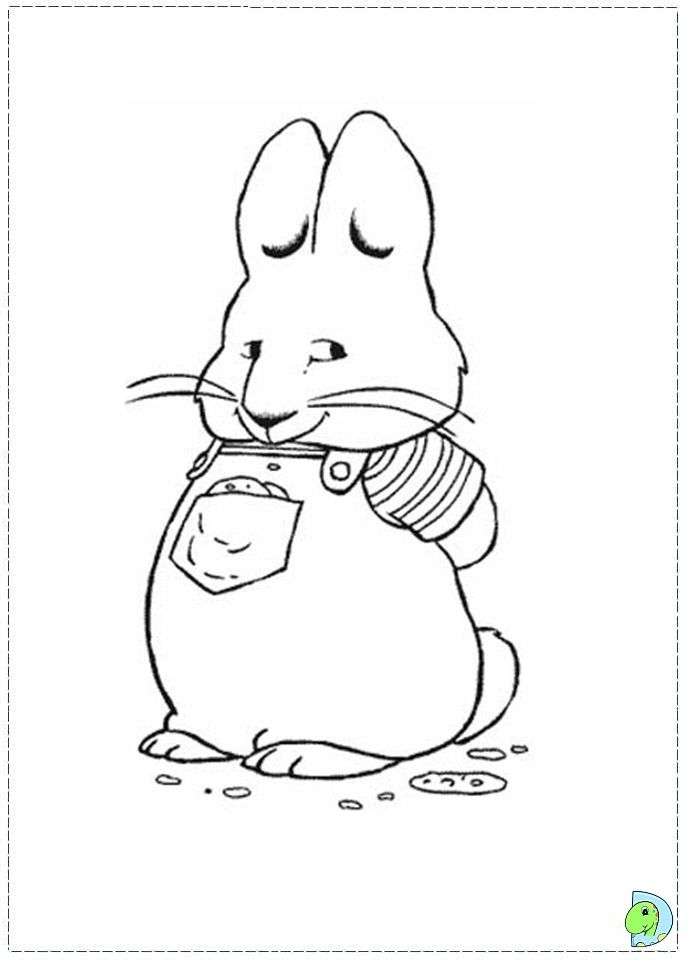 Best Max And Ruby Coloring Pages Free Http Coloringpagesgreat