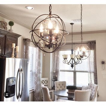 Shop Wayfair For Chandeliers To Match Every Style And Budget Enjoy Free Shipping Farmhouse Dining Room Lighting Dining Room Lighting Farmhouse Light Fixtures