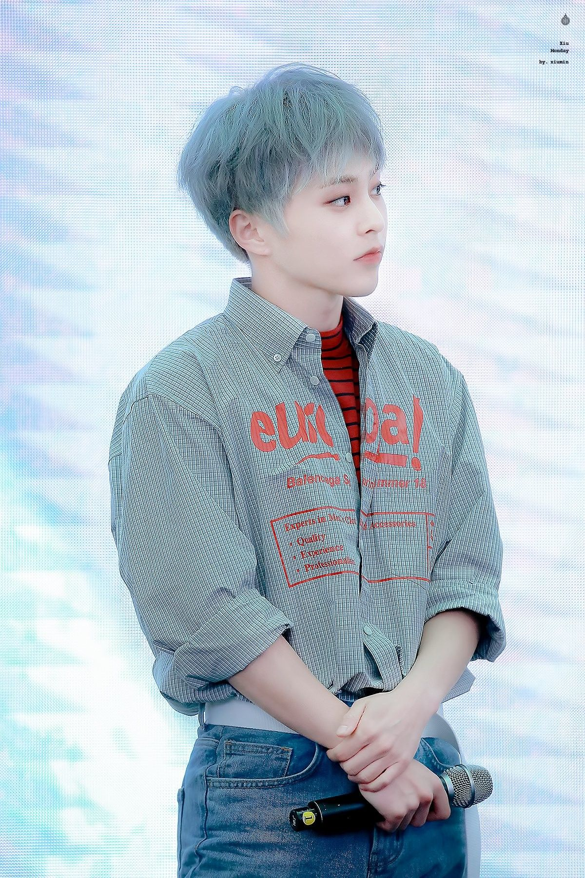 He Doesn T Are He S Already 28 Years Old 29 In Korean Age But He Looks Youngest In Exo Kim Minseok Exo Exo Xiumin Exo