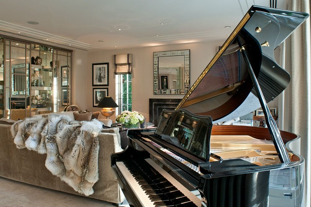 Delightful St Georges Hill Drawing Room By Hill House Interiors