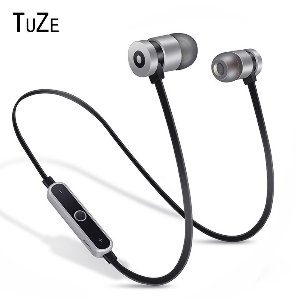 Cheap Price Tuze Hk B1 Neckband Bluetooth Earphone Wireless Headphone For Xiaomi Iphone Earbuds Stereo Auriculares Fone De Ouvido With Mic Bluetooth Microfone Fones