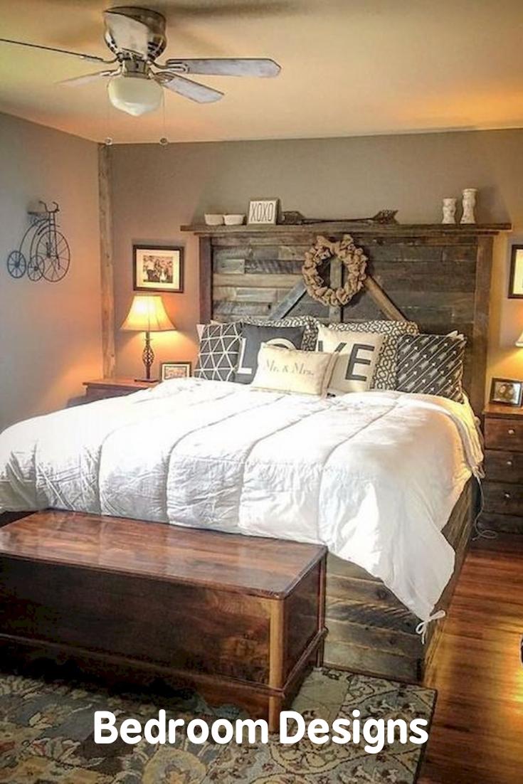 Bedroom Design In 2020 Rustic Master Bedroom Remodel Bedroom