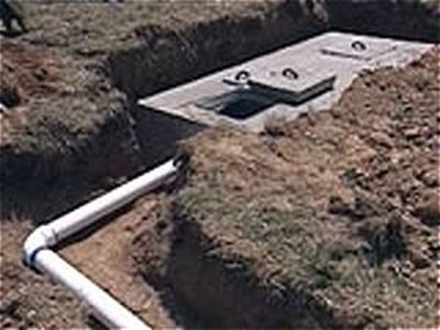 Construct Your Own Septic Tank House Bulding Pinterest