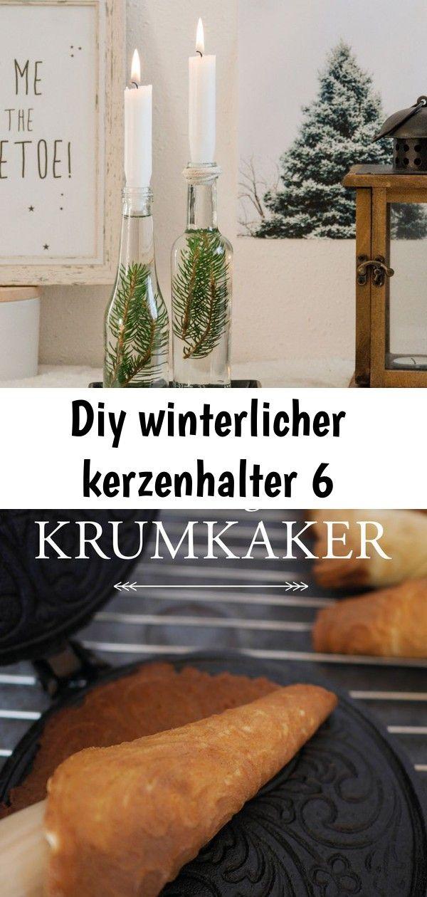 Diy winterlicher kerzenhalter 6 #weihnachtlichetischdekoration