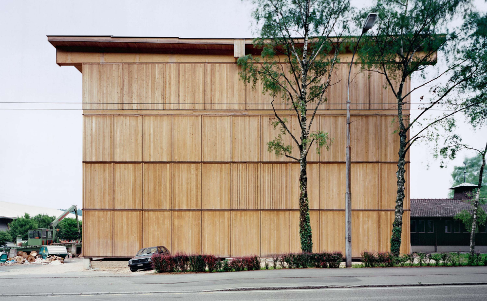 Photo of Swiss School of Engineering for the Wood Industry by Meili, Peter