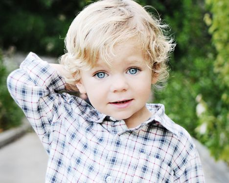 One Year Old Baby Boy Pictures With Blue Eyes Little Boy