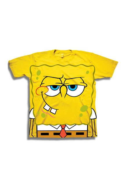 46b8858cd SpongeBob Big Face Tee (Toddler Boys) | Alexander | Kids outfits ...