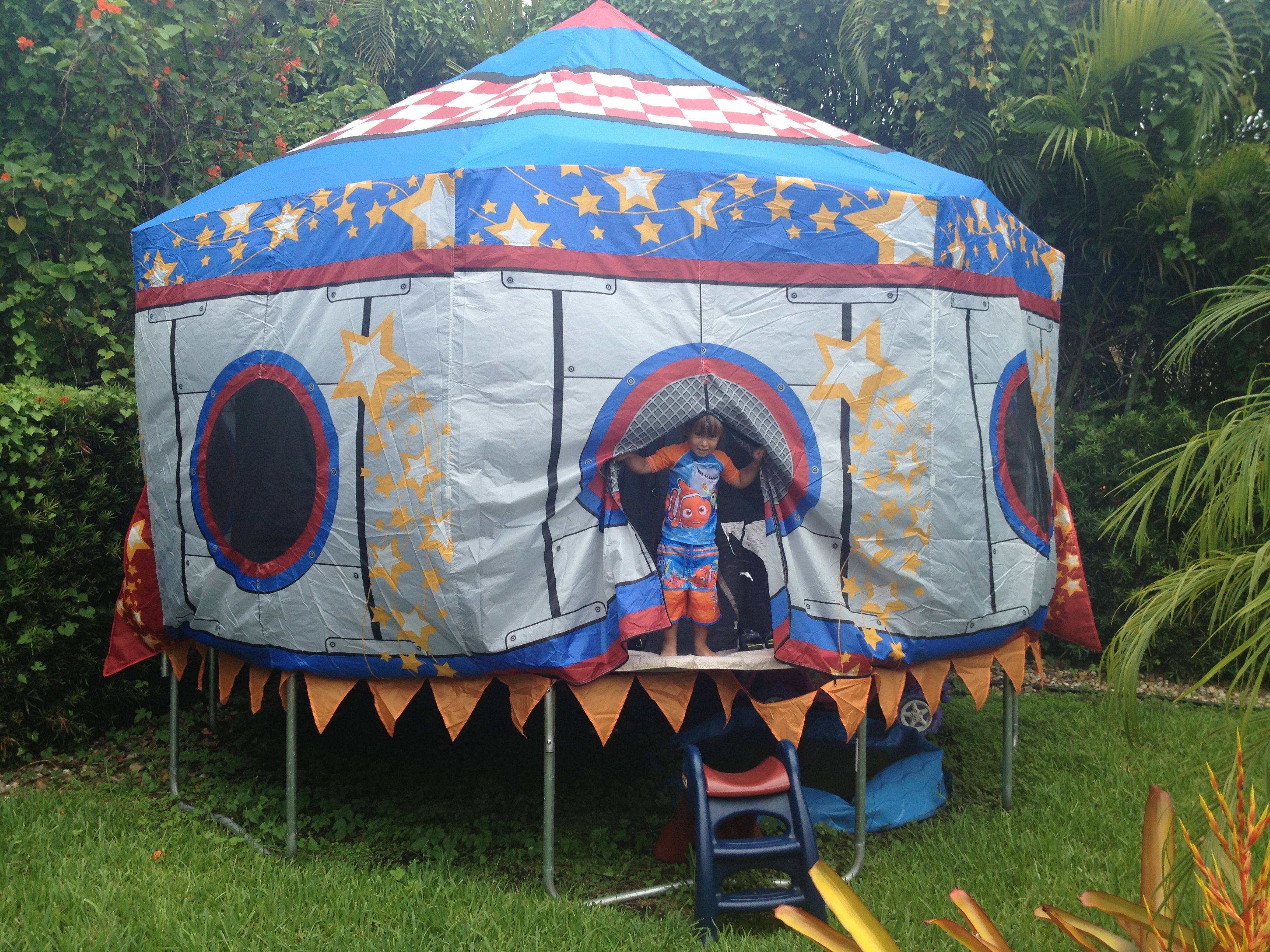 Trampoline Tent Bought On Amazon Nicholas 39 S Thomas The