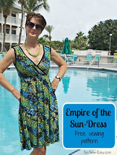 Sew a pretty summer sundress pattern | Nice, Patterns and Summer
