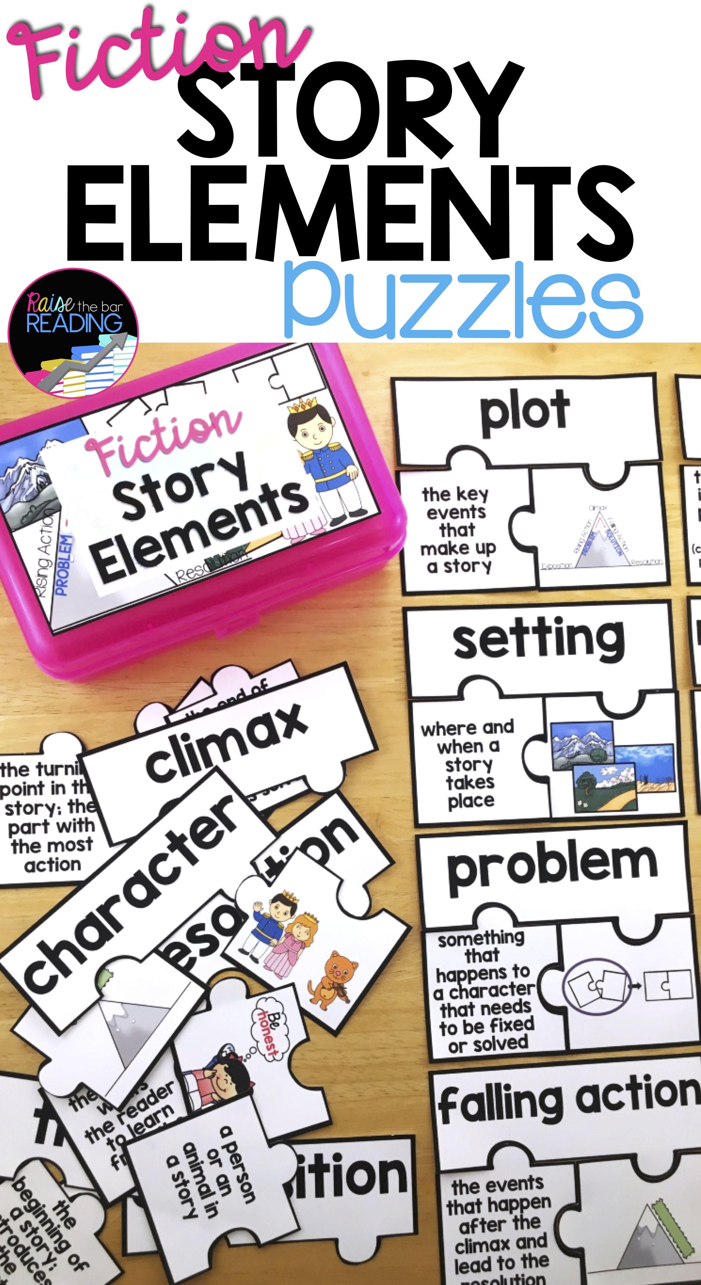 Fiction Story Elements Activity