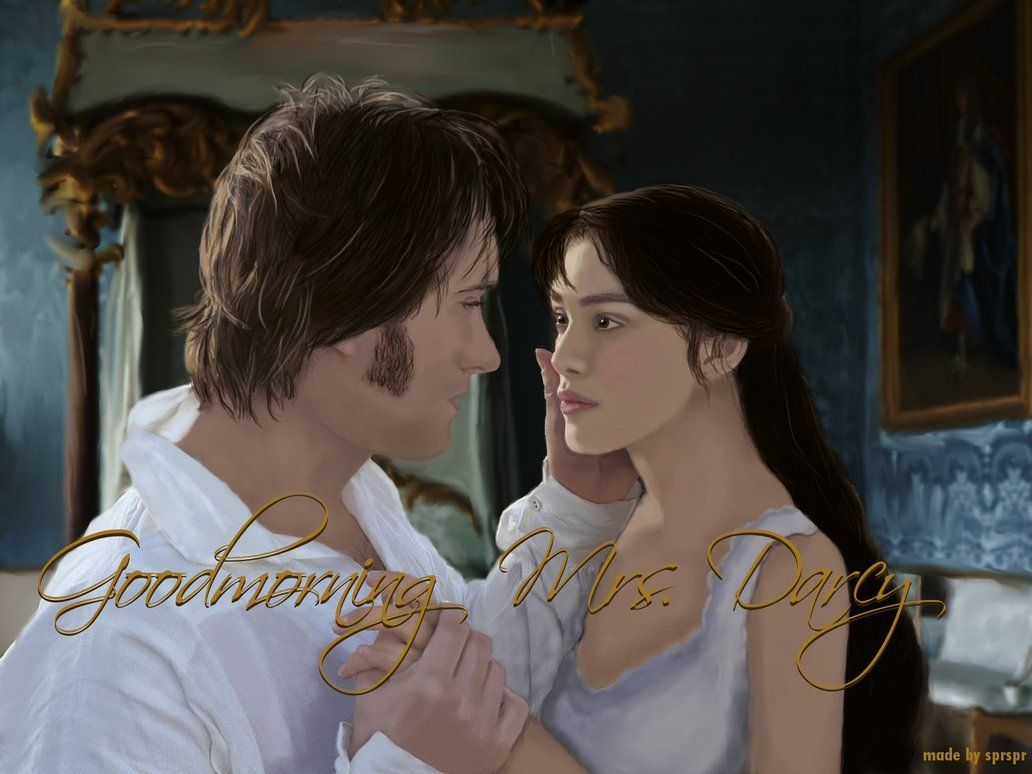Pride And Prejudice Imaginary Scene Of Mr Mrs Darcy After The Wedding Night Actors Matthew Macfadyen Keira Knightley