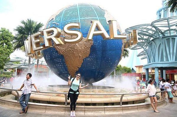 Universal Studios in Singapur, auf Sentosa Island