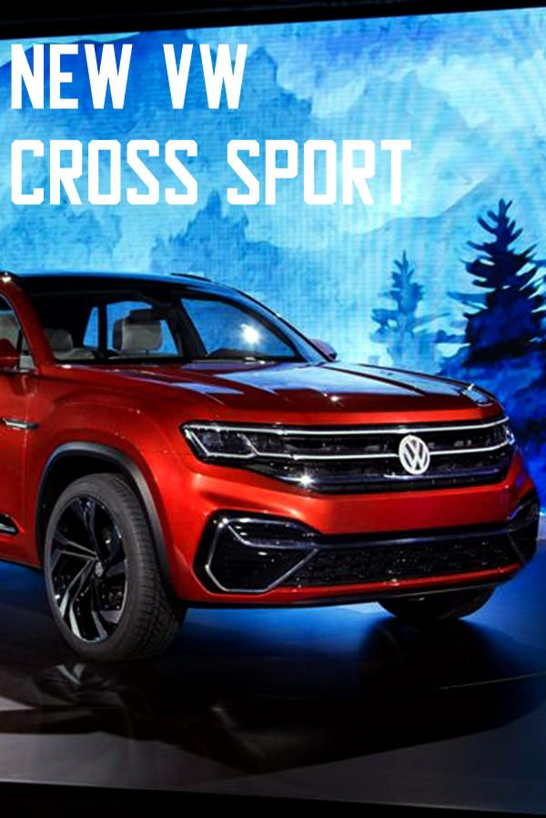 Volkswagen Cross Sport Atlas 5-Seat SUV | World Wide Auto News ...