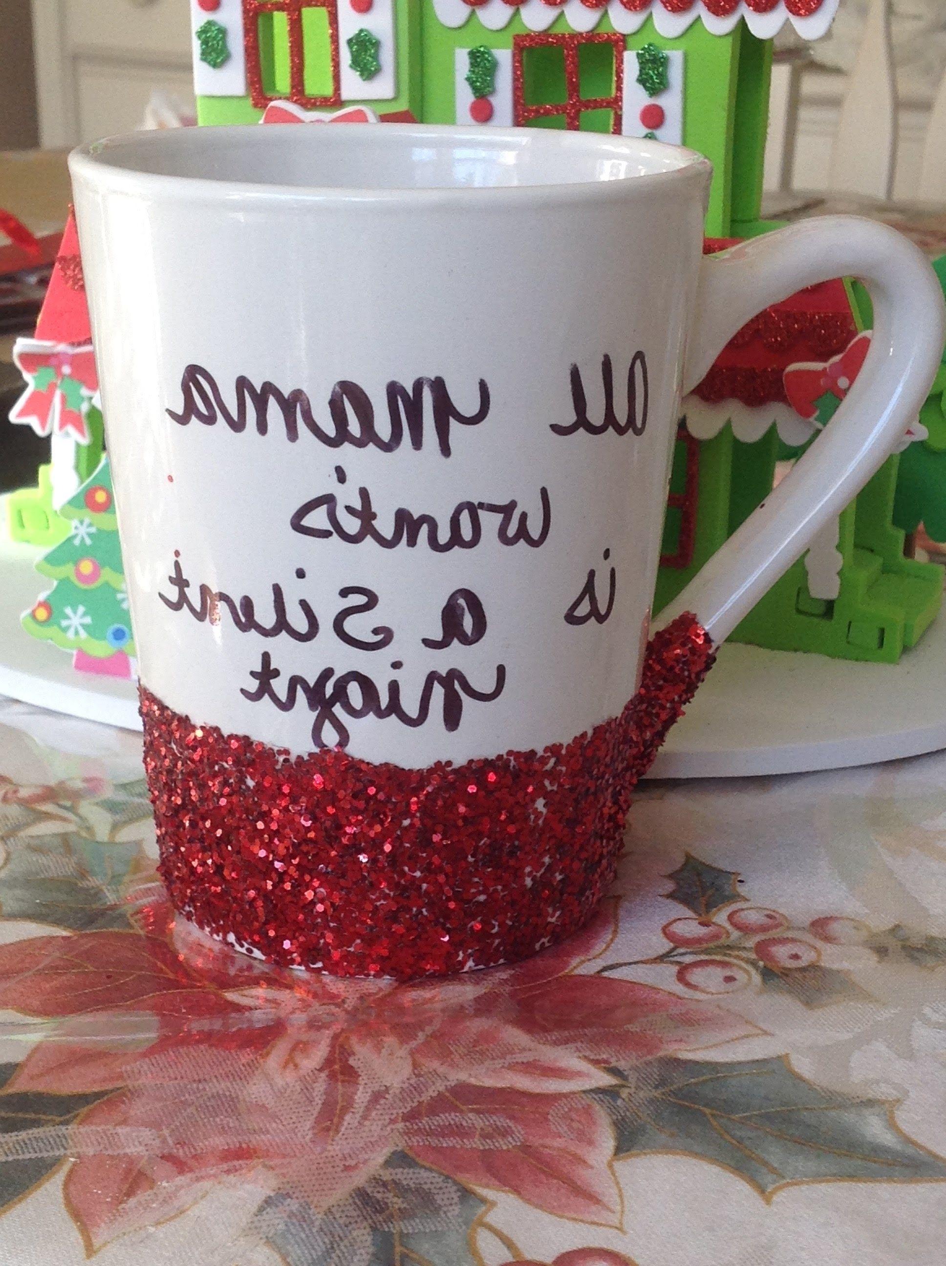 Dollar Tree Christmas Coffee Mugs