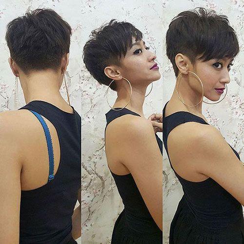 Kurze braune Frisuren für modische Frauen #brownhaircolors