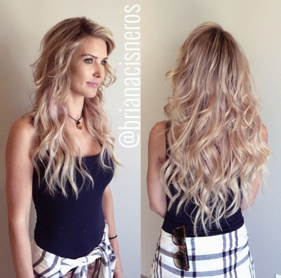 Audrina Patridges Purple Locks Are History See What She Did To