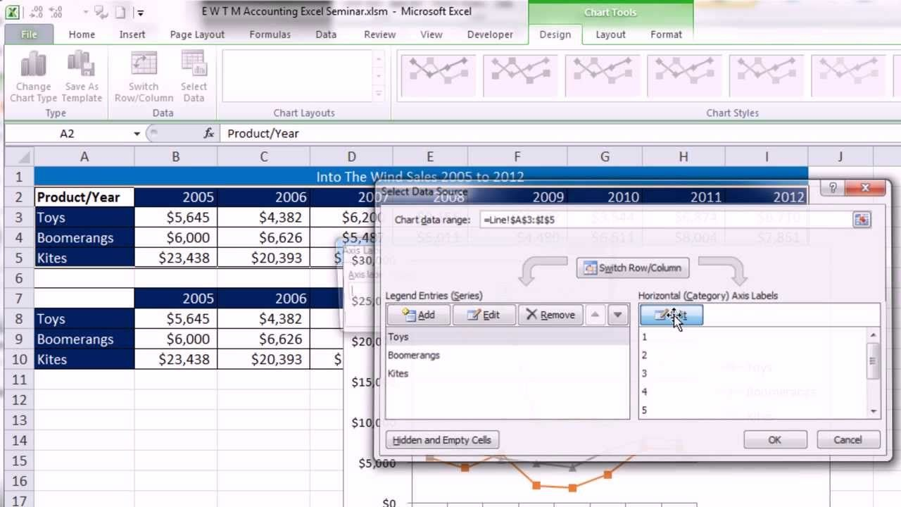 Excel for Accounting: Formulas, VLOOKUP & INDEX, PivotTables