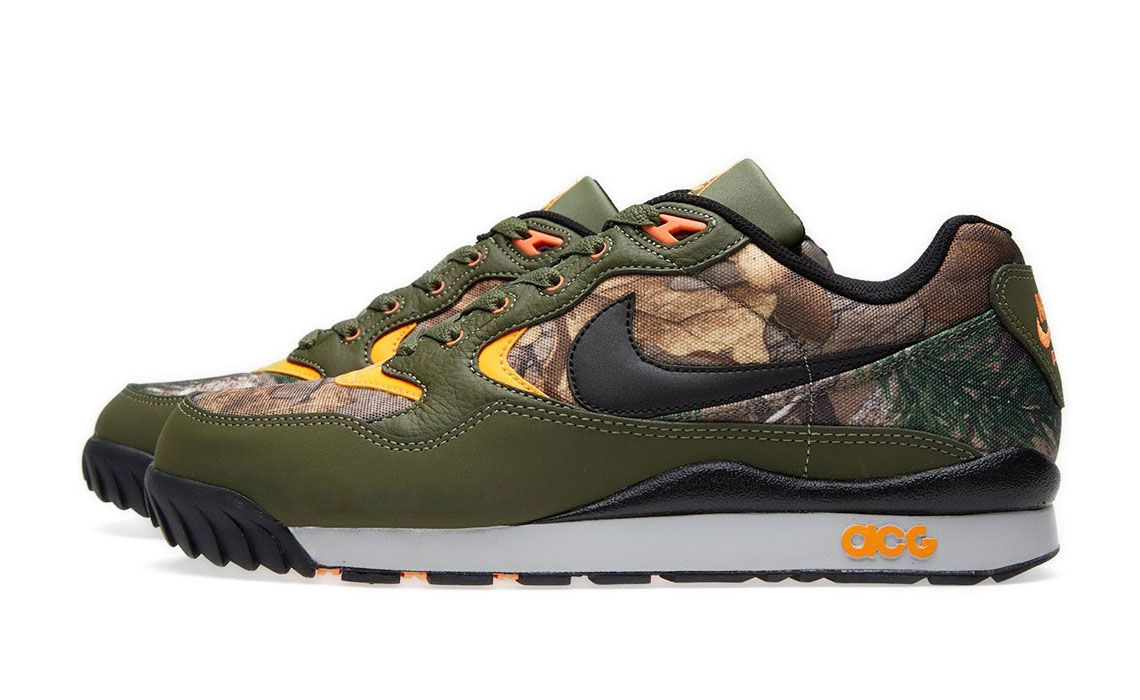wholesale dealer 1d860 944bc The Wildwood is one of the top ACG historical models. Discover the brand  new Nike Air Wildwood Premium RT QS Realtree now available.