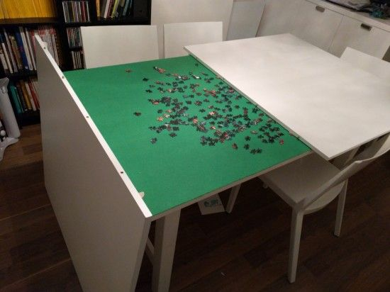 Norden Concealed Puzzle Table Puzzle Table Diy Dining Table