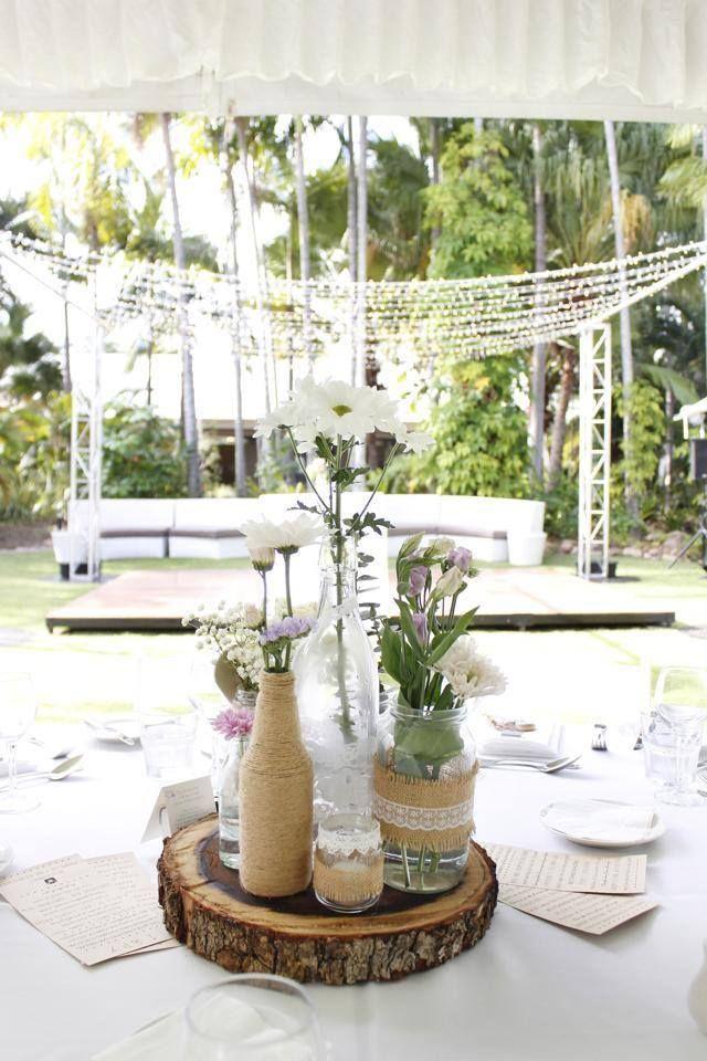 Outdoor Wedding Reception Mercure Townsville Rustic Vintage Marquee Dance Floor Centrepiece Resort Style Outdoor Wedding Resort