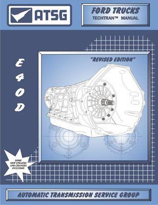ford e4od atsg transmission service manual 89 up rebuild overhaul rh pinterest com ford btr transmission repair manual ford c6 transmission service manual