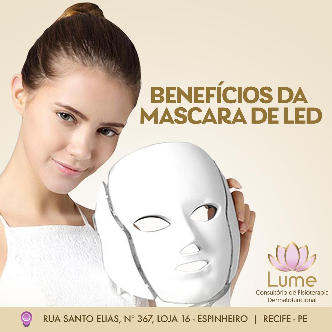 A Fototerapia é Um Tratamento Intermediado Pela Luz Através Da Máscara De Led Que Emite Uma Variedade De Cores Cada Uma Com Um Objet Máscara Led Cicatrizante