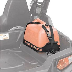 Polaris Lock and Ride Fuel Can Mount With Straps | Polaris