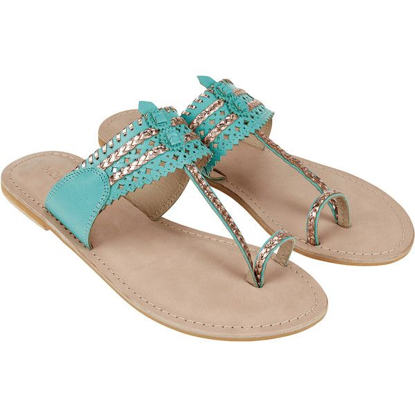 174da04379b5 Monsoon Tilly Toepost Chapel Sandals (€55) ❤ liked on Polyvore featuring  shoes, sandals, cut-out shoes, thong sandals, toe thong sandals, cut out  shoes and ...