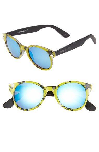 Steve Madden 50mm Printed Frame Sunglasses available at #Nordstrom ...
