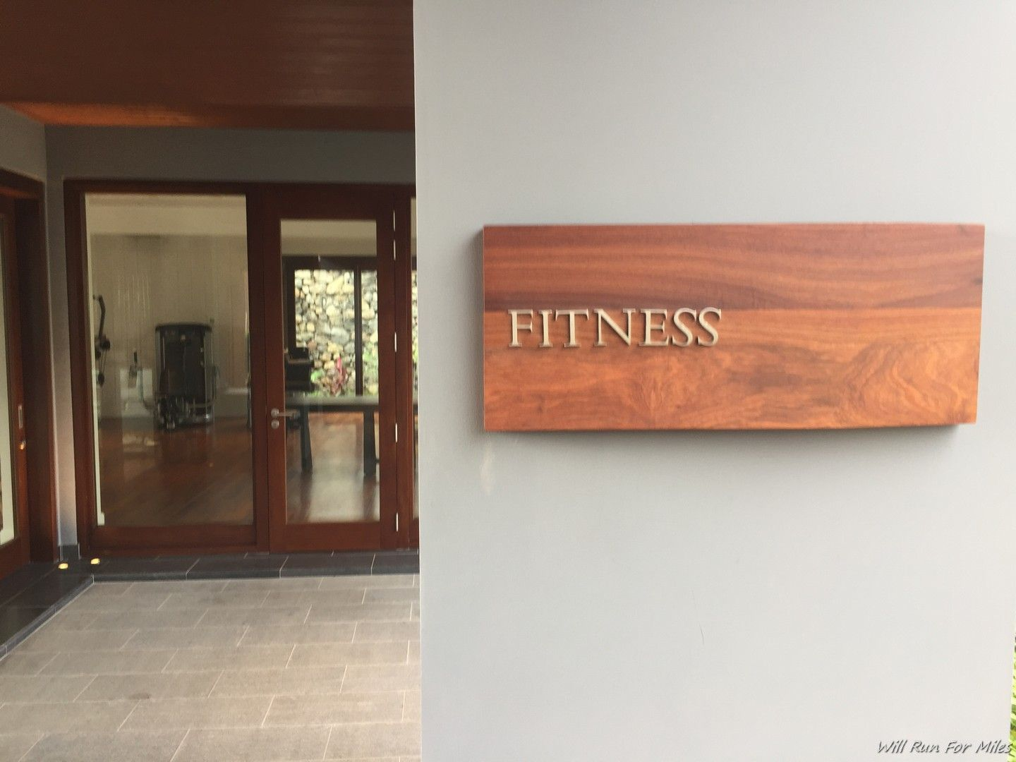 [Gimnasio del hotel] Park Hyatt St. Kitts - willrunformiles.b ...  Informations About Working Out -...