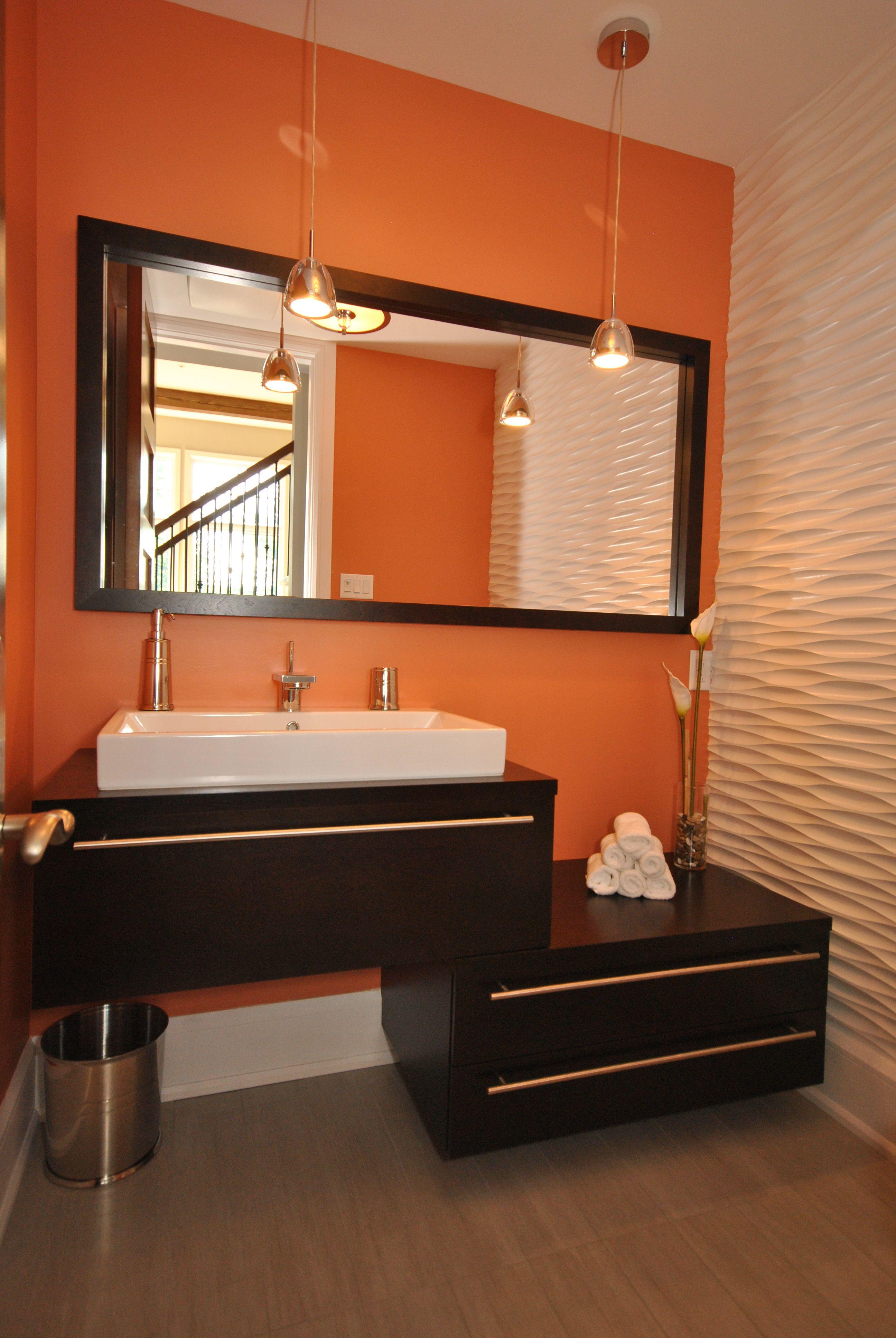 Deco Avec Meuble Merisier meuble de salle d'eau en merisier teint de couleur espresso