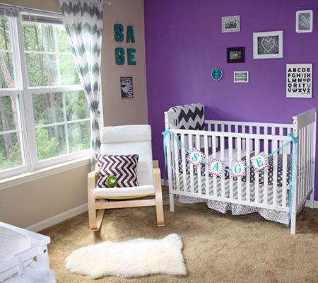 Inspired By Amethyst 10 Purple Hued Nurseries For Babies Disney Baby