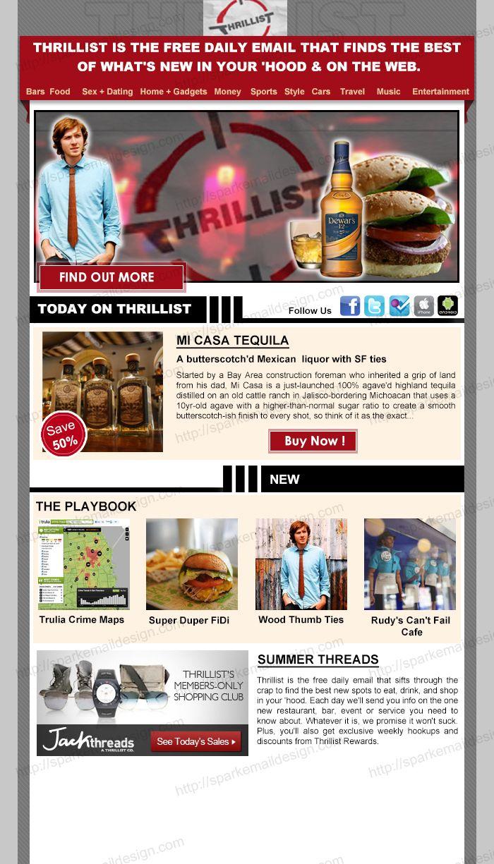 Attractive Newsletter Template Design Mailchimp Email Marketin