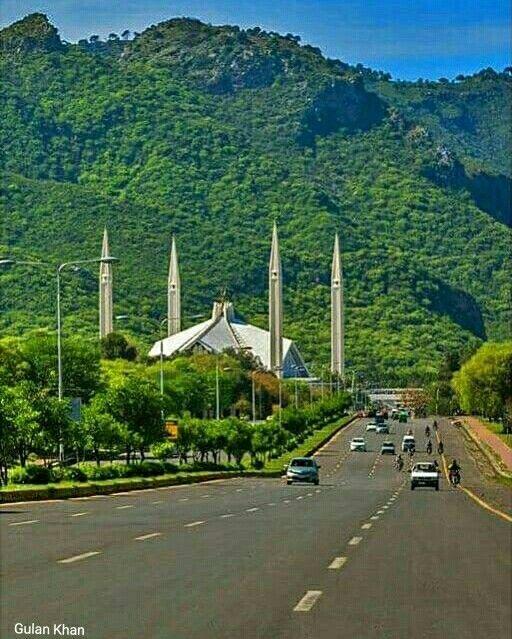 Beautiful Islamabad: Awesome View Of Beautiful & Greenish View Of Beautiful