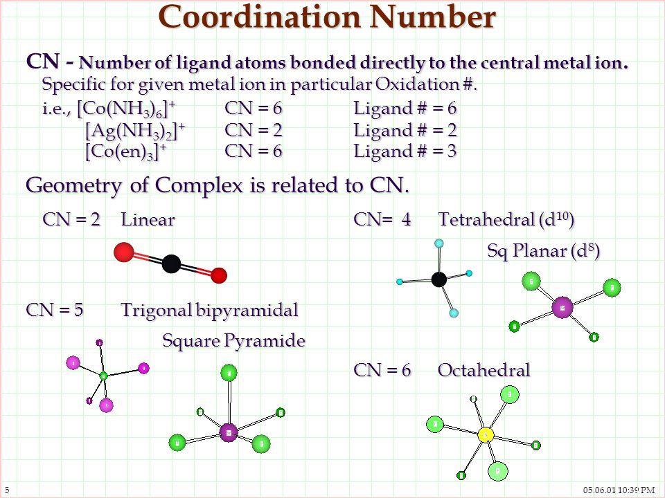 Image Result For Coordination Number Mcat Pinterest