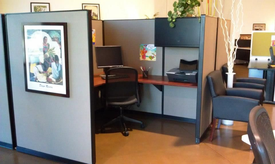 Refurbished Steelcase Panels Binder Bin Paired With New